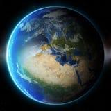 planet för jord 3d Beståndsdelar av denna avbildar möblerat av NASA annat Royaltyfria Bilder