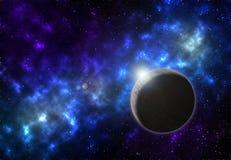 Planet galaxy nebula Stock Photography