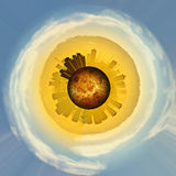Planet Glasgow Stock Image