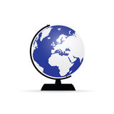 Planet globe art color  Stock Images