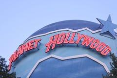 Planet hollywood royaltyfria foton