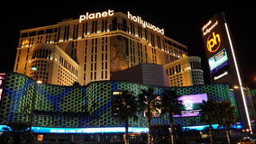 Planet Hollywood-Erholungsort und -kasino in Las Vegas, Nevada stockbild