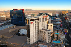 Planet Hollywood Hotel in Las Vegas royalty free stock images