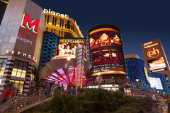 Planet Hollywood Hotel in Las Vegas, NV on May 18, 2013 Royalty Free Stock Image