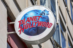 Planet Hollywood in London Stock Photo