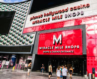 Planet Hollywood Miracle Mile Shops Royalty Free Stock Photography