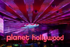 Planet Hollywood Resort and Casino stock images