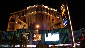 Planet Hollywood Resort and Casino in Las Vegas, Nevada Stock Photography