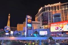 Planet Hollywood Resort and Casino. Las Vegas, Usa - July 25, 2017: Las Vegas Strip on Las Vegas boulevard in front of Planet Hollywood Resort and Casino on Stock Photography