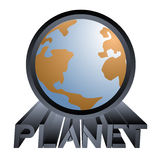 Planet icon Stock Photo