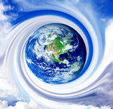 Planet illustration Stock Photos