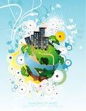 Planet illustration Royalty Free Stock Photo