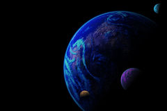 Planet illustration Royalty Free Stock Photography