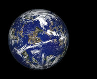Planet im Platz Stockbilder