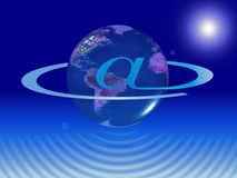 Planet internet Royalty Free Stock Images