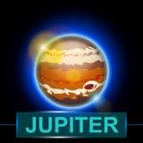 Planet jupiter Stock Photography