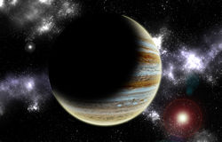 PLANET JUPITER Royalty Free Stock Photography