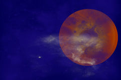 Planet Jupiter Stock Photo