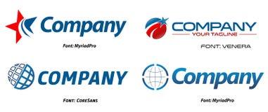 Planet logos Stock Photo