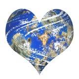 Planet love Stock Image