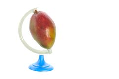 Planet mango Royalty Free Stock Photo