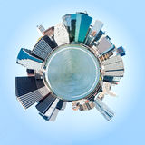 Planet Manhattan, New York City. USA. Royalty Free Stock Photos