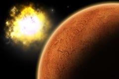 Planet Mars Lizenzfreie Stockfotografie