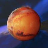planetę mars Zdjęcie Stock