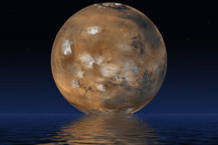 Planet Mars Royalty Free Stock Photos