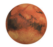 Planet Mars Isolated Royalty Free Stock Image