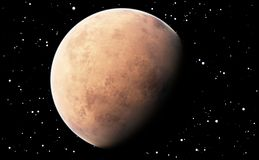 Planet Mars Royalty Free Stock Photography