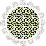 Planet med träd vektor illustrationer