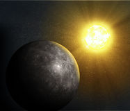Planet Mercury Royalty Free Stock Photos