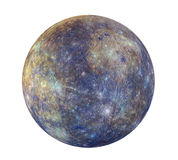Planet Mercury Isolated Royalty Free Stock Photo