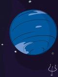 Planet Neptune Stock Image