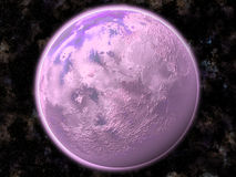 Planet in outer space Royalty Free Stock Photography