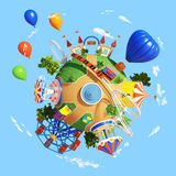Planet Park Royalty Free Stock Photography