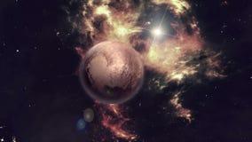 Planet Pluto stock abbildung