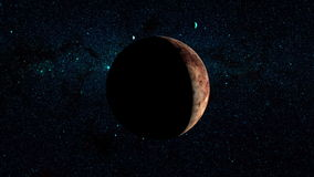 Planet Pluto Stock Footage