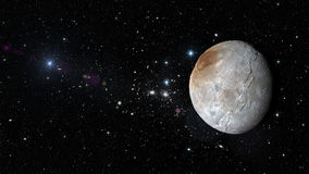 Planet Pluto in outer space. Elements of this image furnished by NASA Stock Photography
