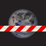 Planet is on repair Stock Photo
