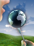Planet resources Royalty Free Stock Image
