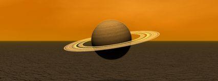 Planet saturn Stock Photo