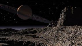 Planet Saturn Arkivbilder