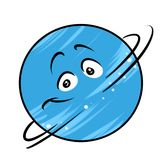 Planet Saturn cartoon Royalty Free Stock Images