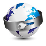 Planet security Royalty Free Stock Photography