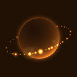 Planet sign rings cosmic space Royalty Free Stock Photo
