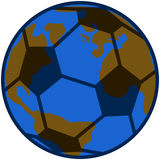 Planet soccer Stock Photo