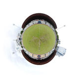 Planet Soccer Stadium Royalty Free Stock Photography