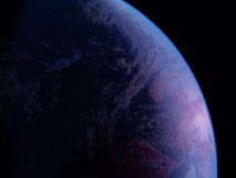 A planet is in space Royalty Free Stock Photography